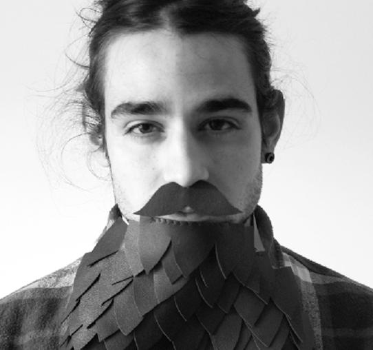 Denis Galocha. Il·lustrador col·laborador del projecte Printing Freedom.